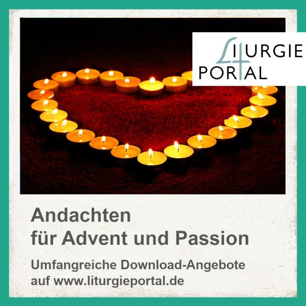 Download-Paket - Andachten für Advent und Passion